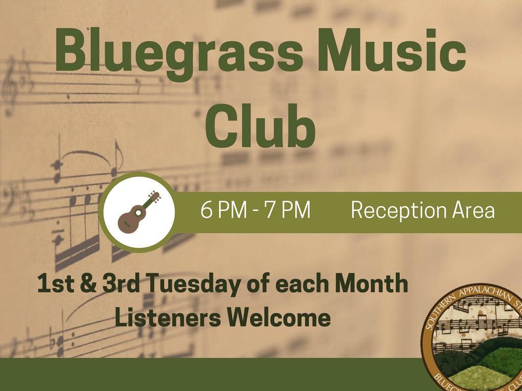 Bluegrass Music Club twice monthly 1