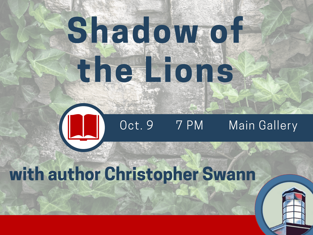 Christopher Swann Shadow of the Lions October 9 2018 (Signage)
