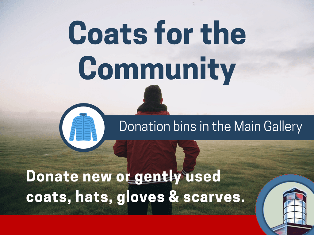 Coats for community (Signage)