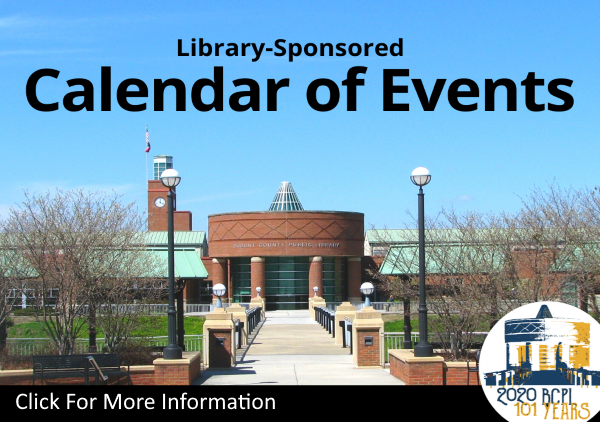 Calendar of Events template 2019 (Feature)