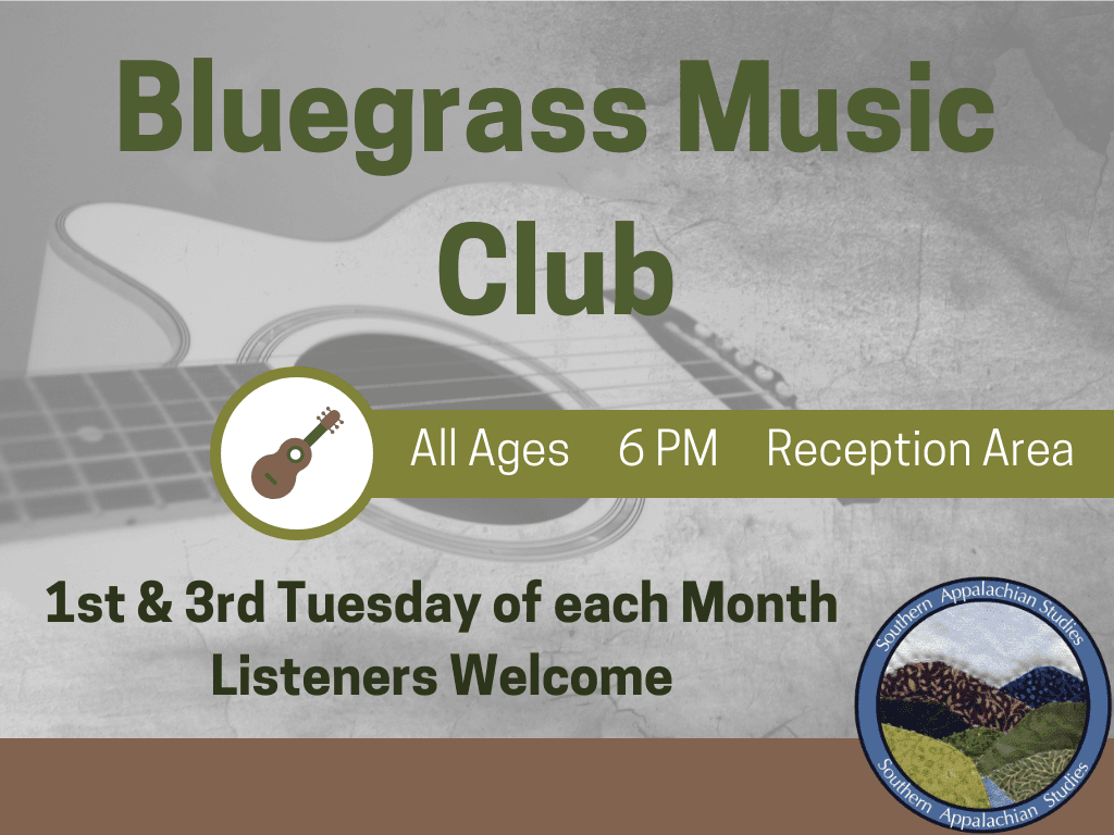 Bluegrass Music Club 2019 (Signage)