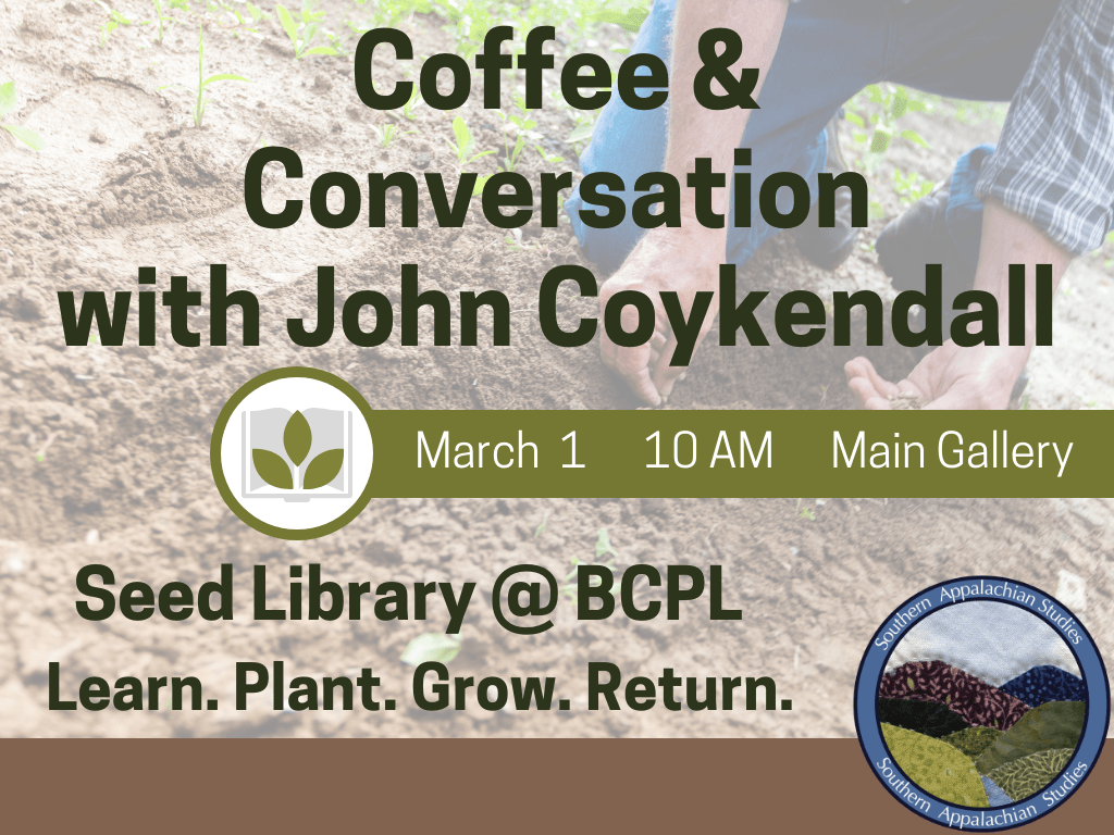 Coffee and Conversation Mar 1 2019 (Signage)