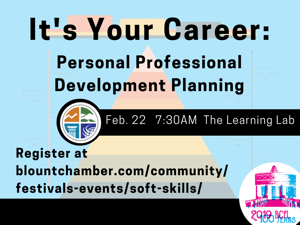 Personal Professional Development Planning Feb 22 2019 (Signage)