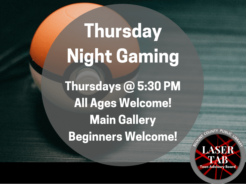 Thursday Night Gaming (Signage)