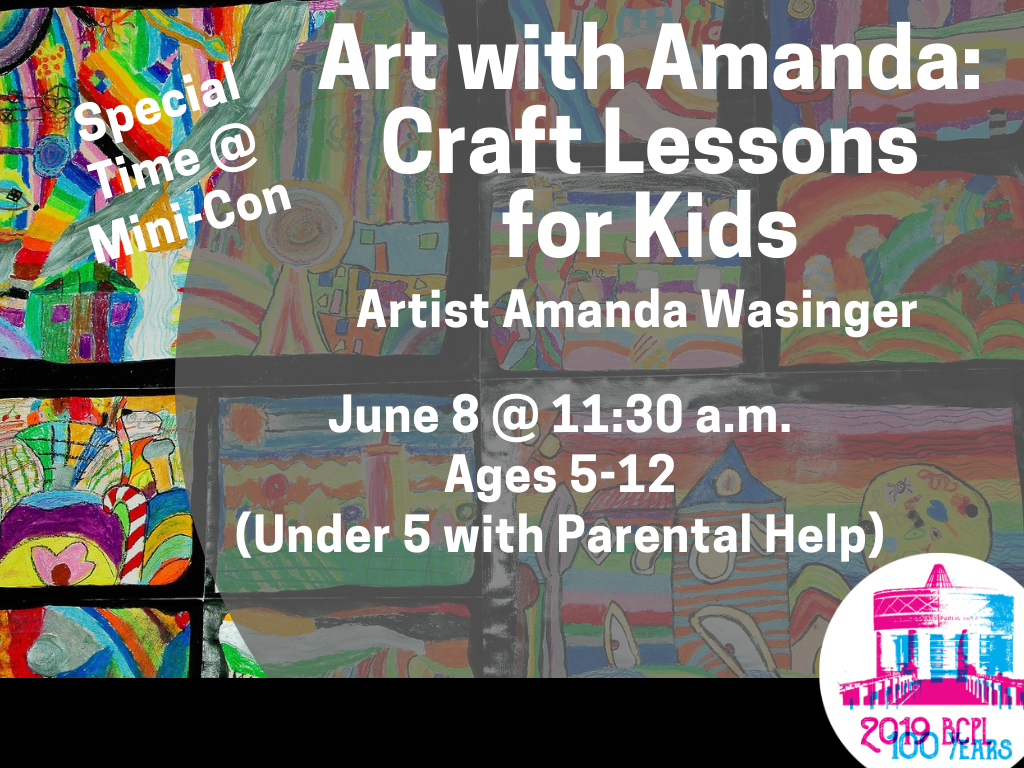Art with Amanda June 8 2019 (Signage)