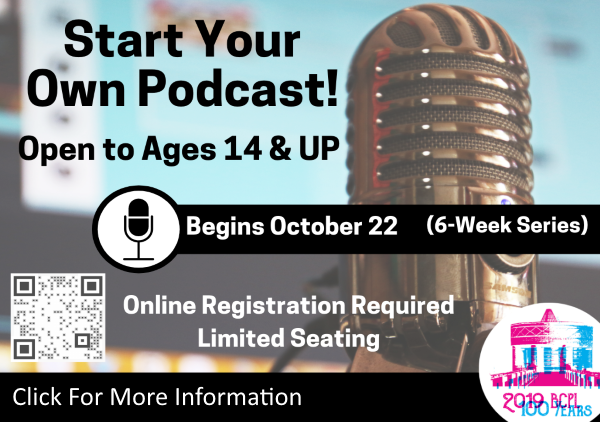 Start Your Own Podcast Oct 22 to Nov 26 (Feature)