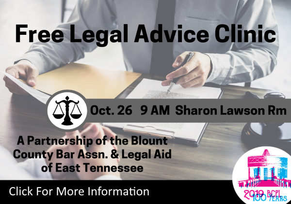 Free Legal Advice October 26 2019 (Feature)