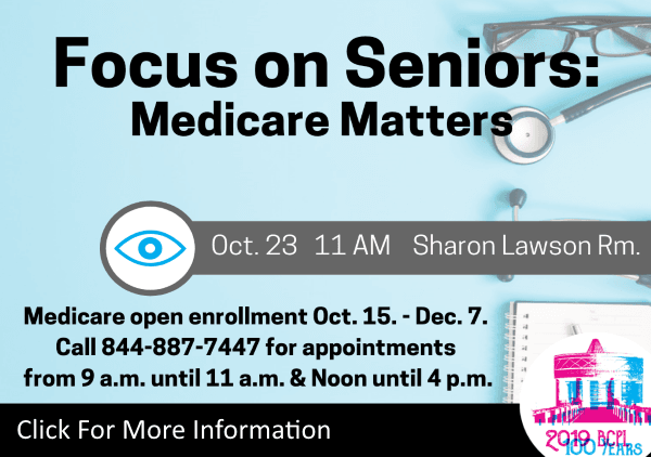 Medicare Matters Oct 23 2019 (Feature)