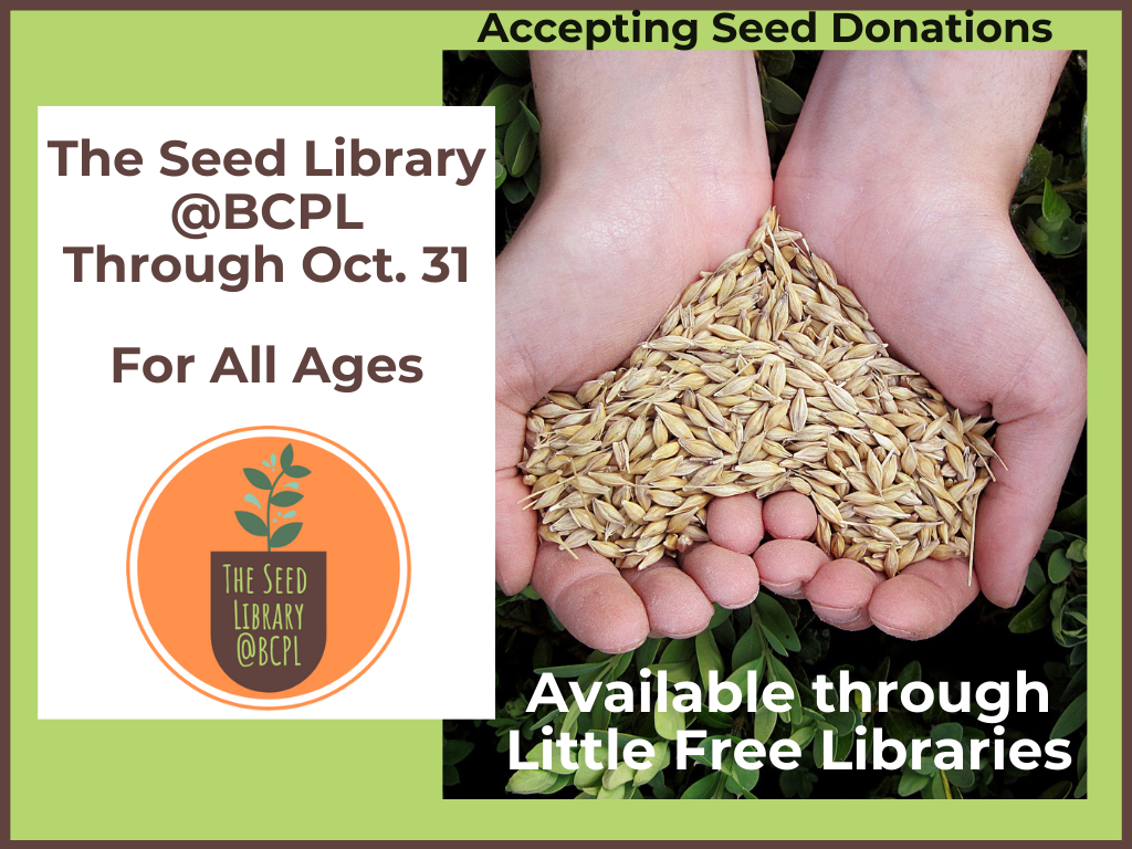 Seed Library Mar 1 to Oct 31 2020 (Signage) updated 3-23