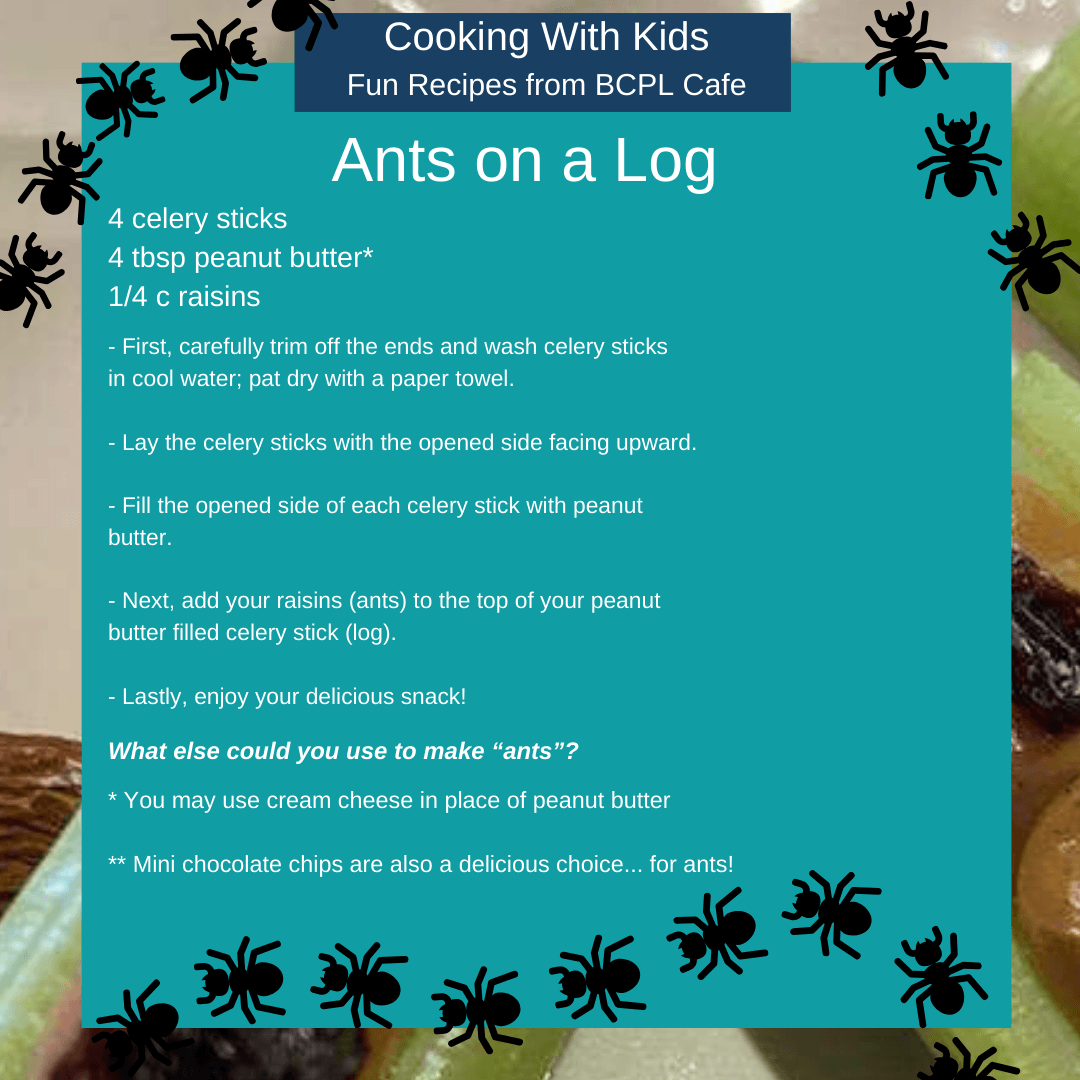 Ants on a log image