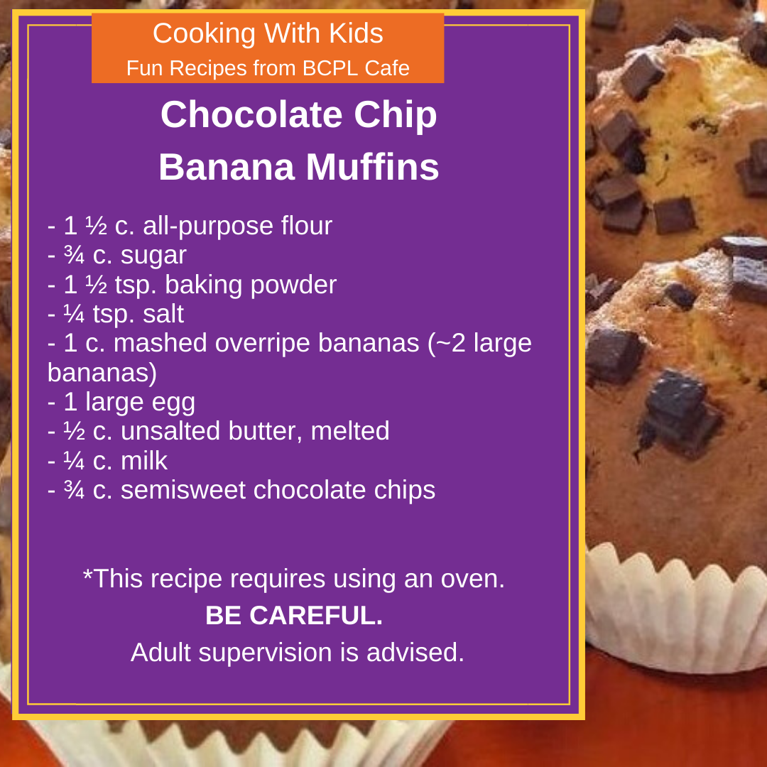 Chocolate Chip Banana Muffins image