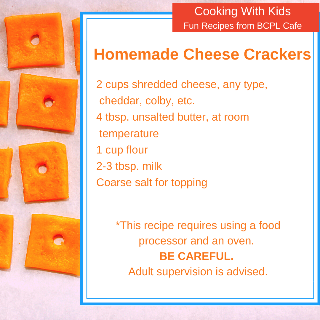 Homemade Cheese Crackers image