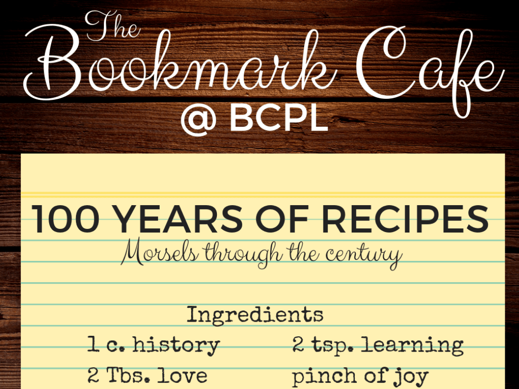 100 years of Recipes